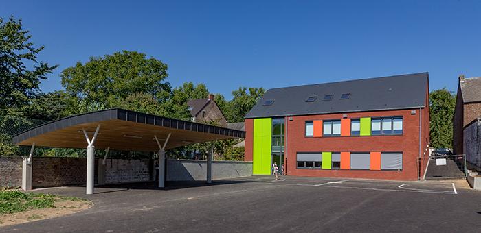 Ecole communale à Eghezée