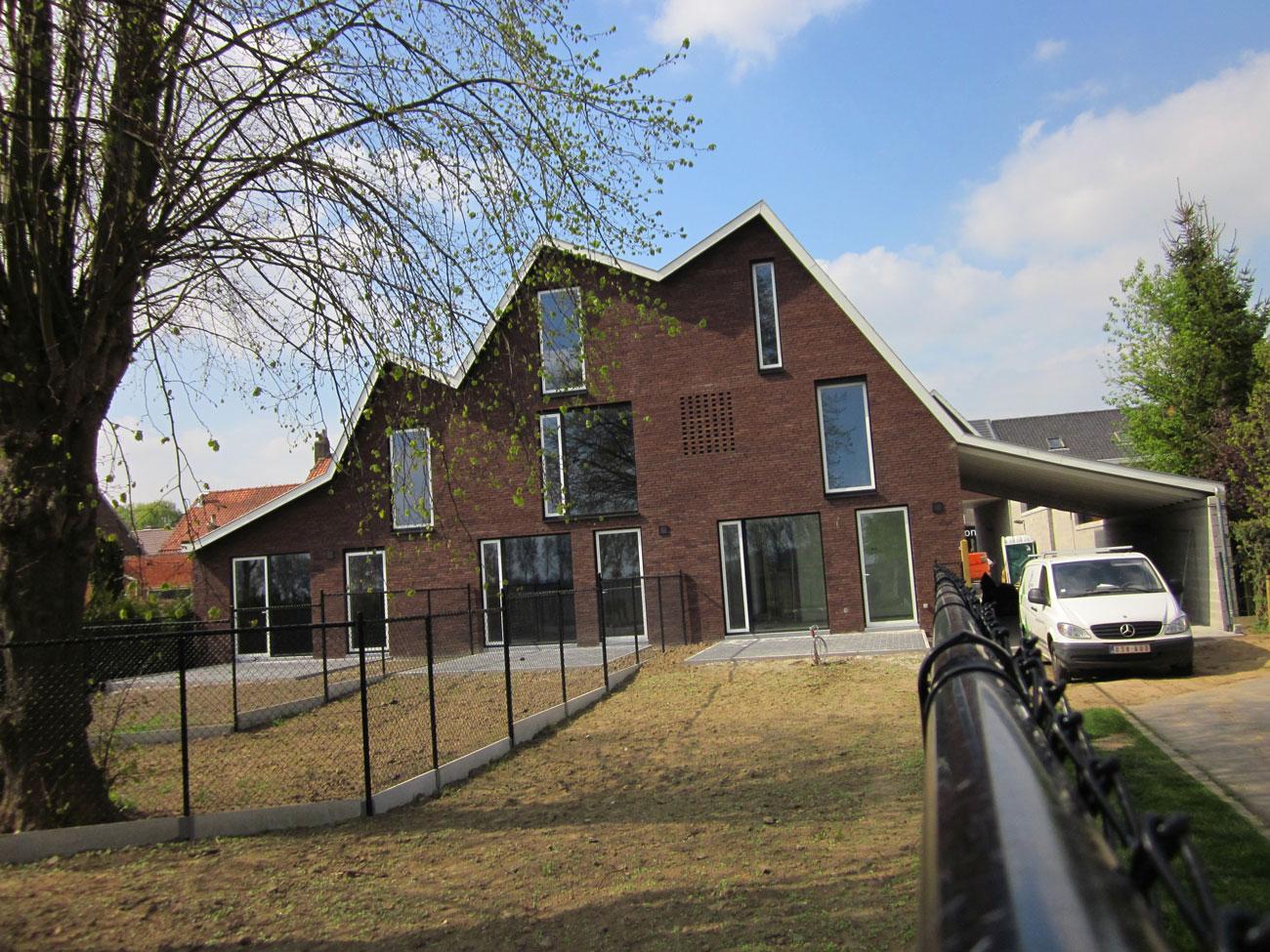 Maisons vendre avelgem for Maison cle sur porte avec terrain compris