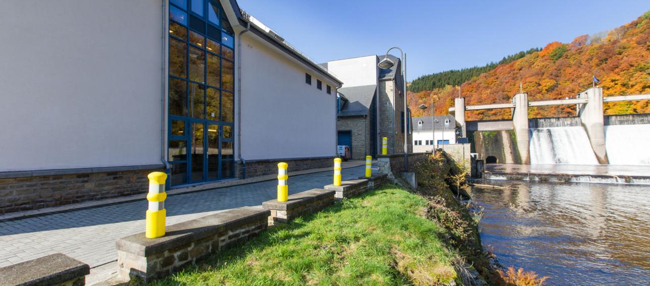 Hall de production à Houffalize