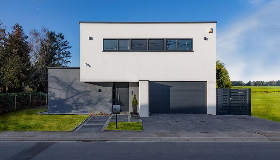 Maison cl sur porte t palm naninne for Constructeur maison belge