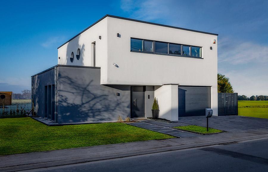 Construire une maison clé sur porte en Belgique