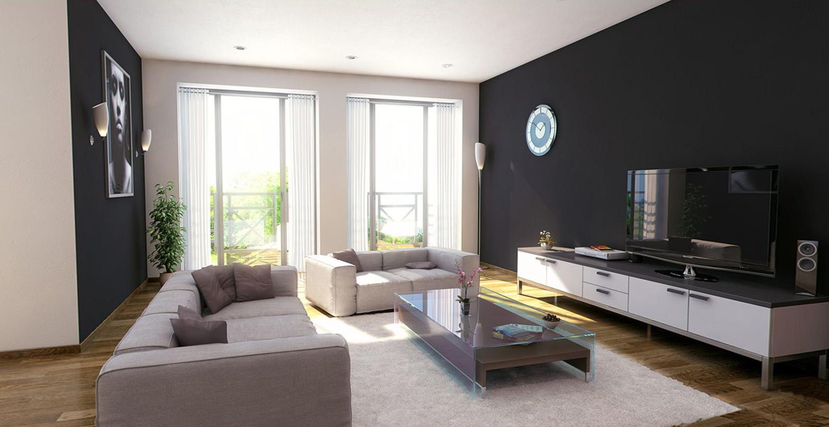 appartement a vendre spa vue interieur 3 t palm. Black Bedroom Furniture Sets. Home Design Ideas