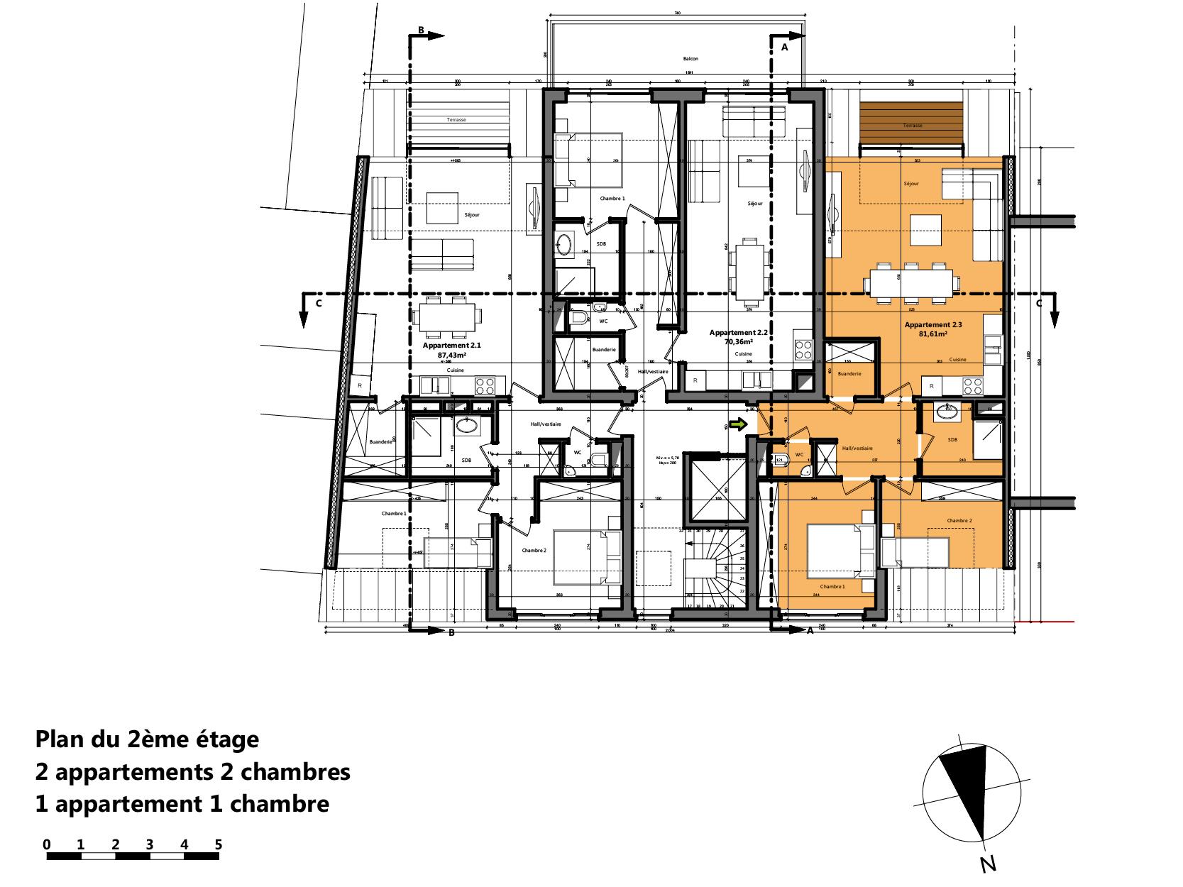 appartements vendre hermalle 4681. Black Bedroom Furniture Sets. Home Design Ideas